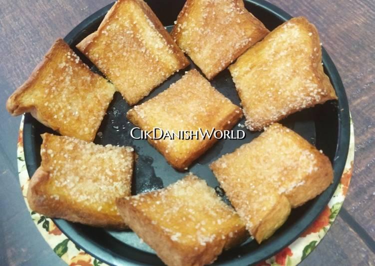 😋 Roti Gula Kering - resepipouler.com