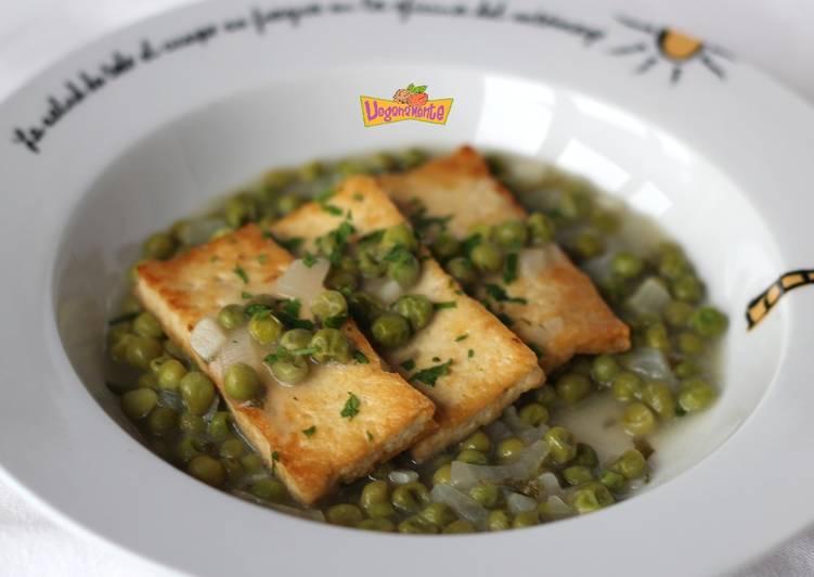 Tofu en Salsa Verde o a la Marinera