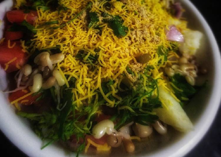 Simple Way to Prepare Super Quick Homemade Sprouts Chaat