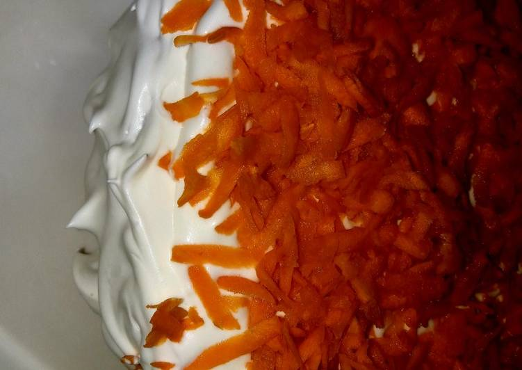 Recipe of Favorite Carrot cake