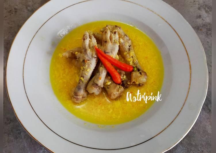 Seblak Ceker Ayam (tanpa kerupuk)