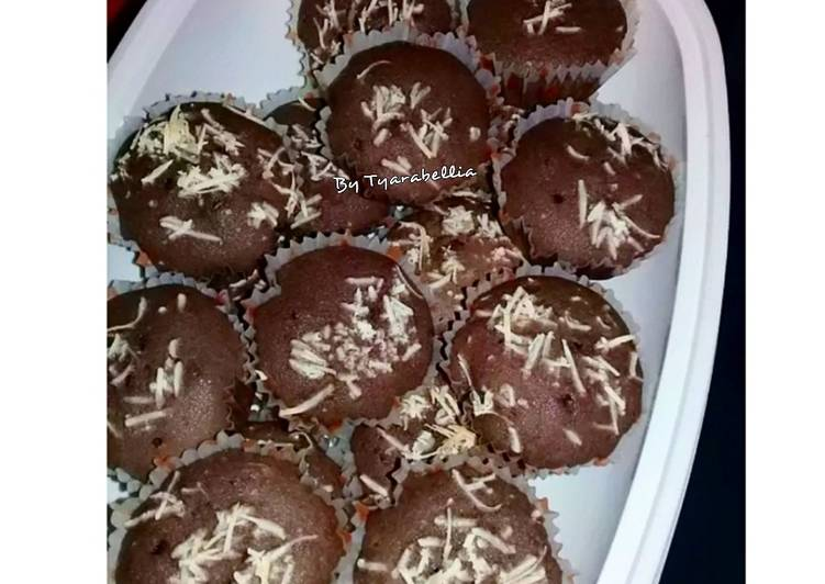 Resep Chocolate Muffin Topping Cheese Terenak