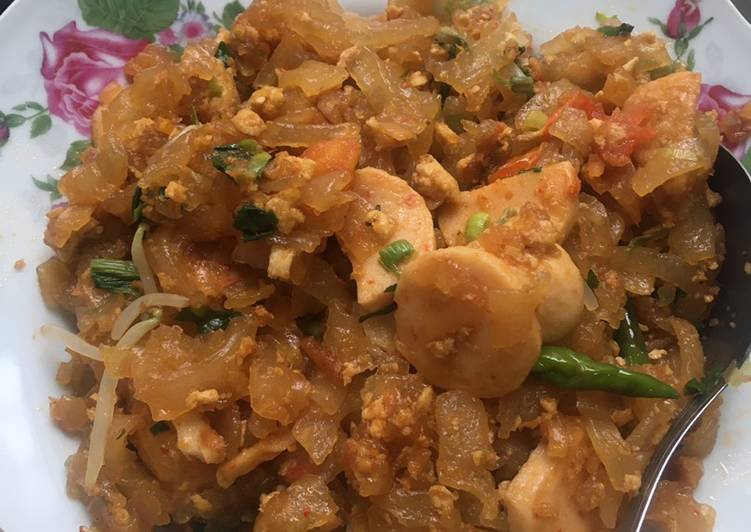 Mie tiaw goreng