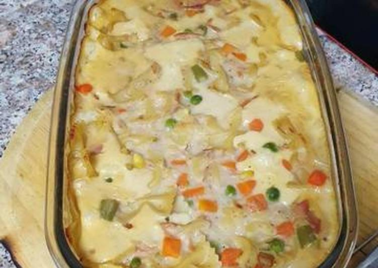 Steps to Prepare Perfect Tuna Cheesy Casserole