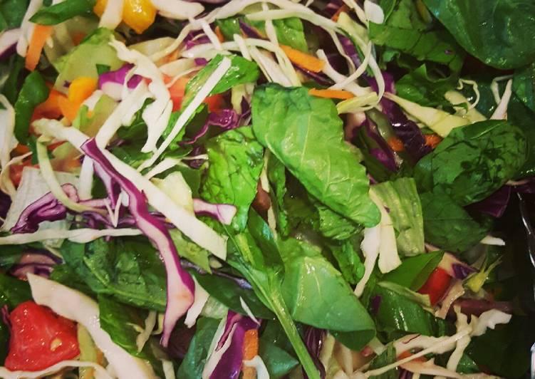 Old Fashioned Dinner Ideas Autumn My garden salad