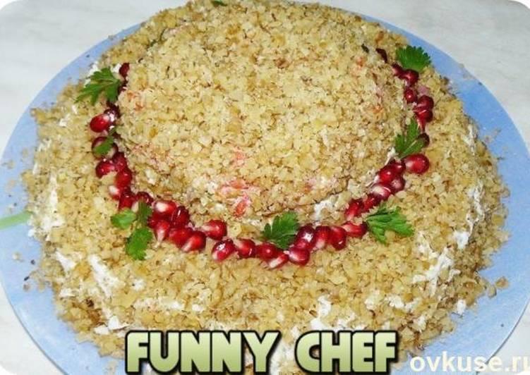 наличии рецепт салата шляпа с фото сериала кричащем красном