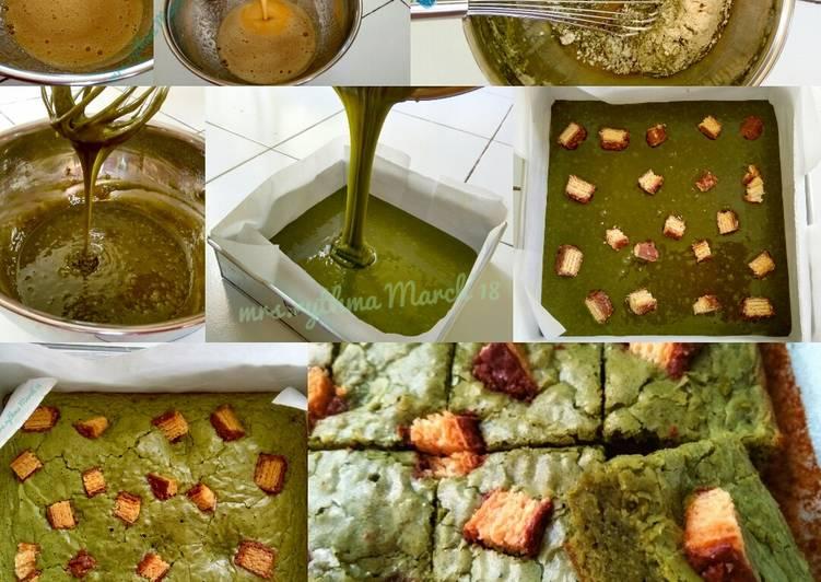 Greentea Brownies