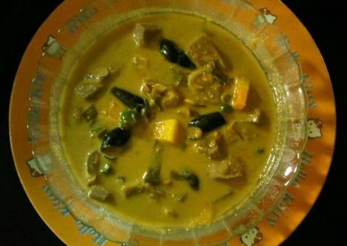 Kuah Pliek ue ( Masakan Gulai khas Aceh)
