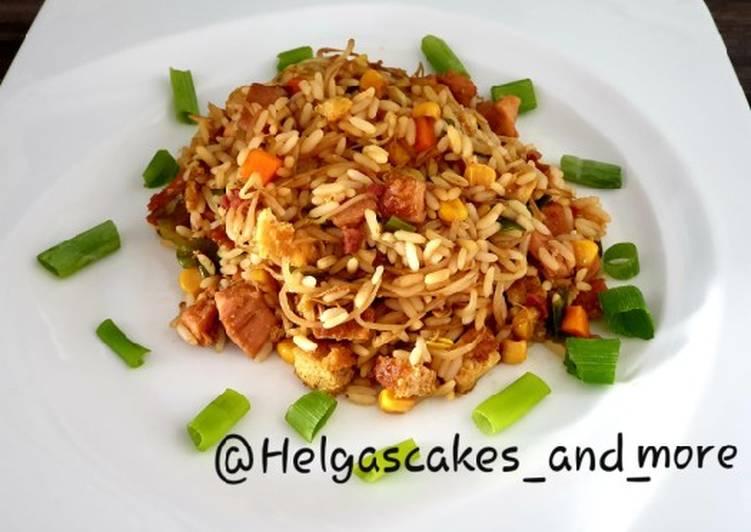 Gebratener Reis auf Chinesische Art
