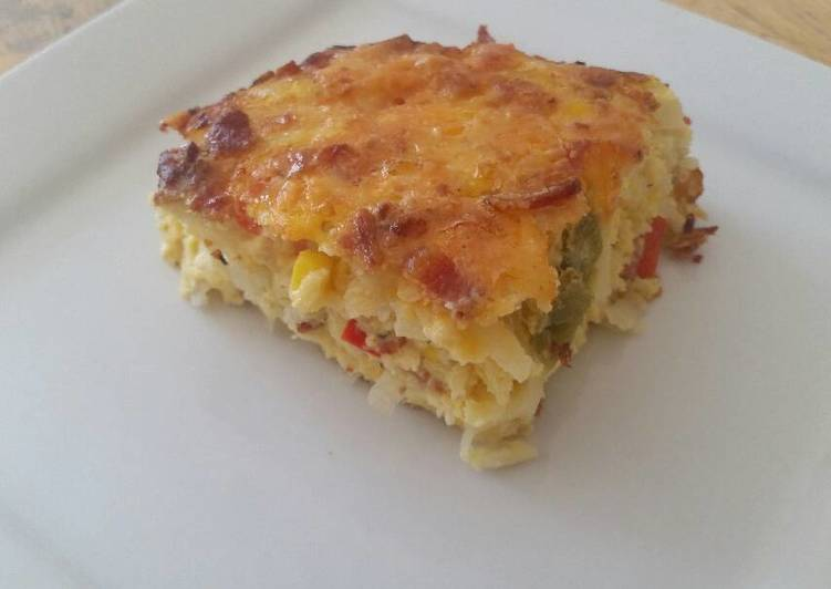 Step-by-Step Guide to Make Speedy Egg & Hash Brown Casserole