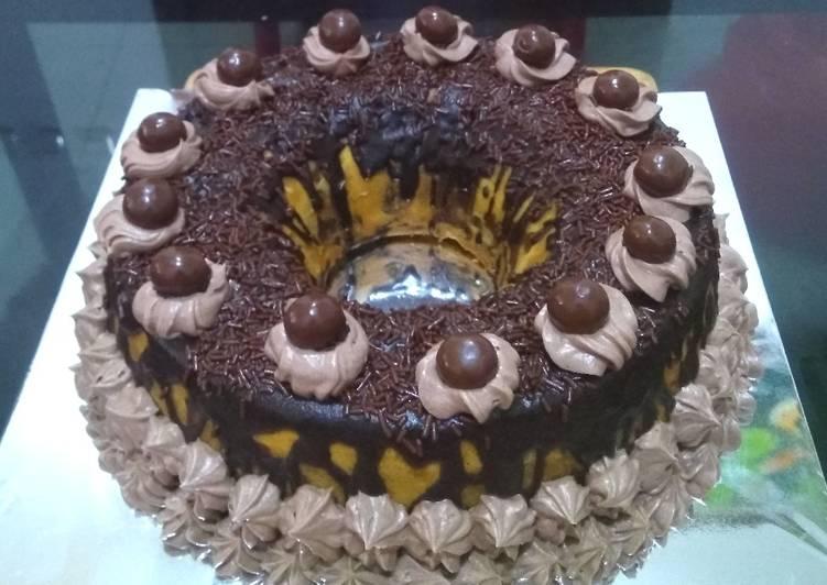 Resep Menghias Kue Ultah Sederhana Oleh Maria Crishtabella Cookpad