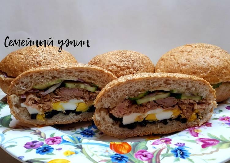 Вкусные сэндвичи для пикника