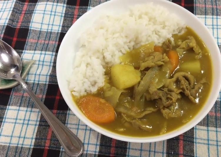 como se prepara el curry japones