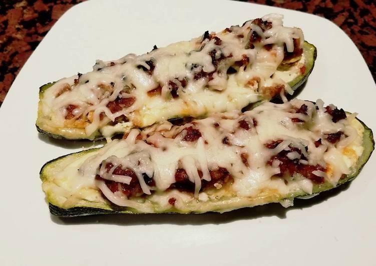 How to Prepare Perfect Keto Zucchini Boats