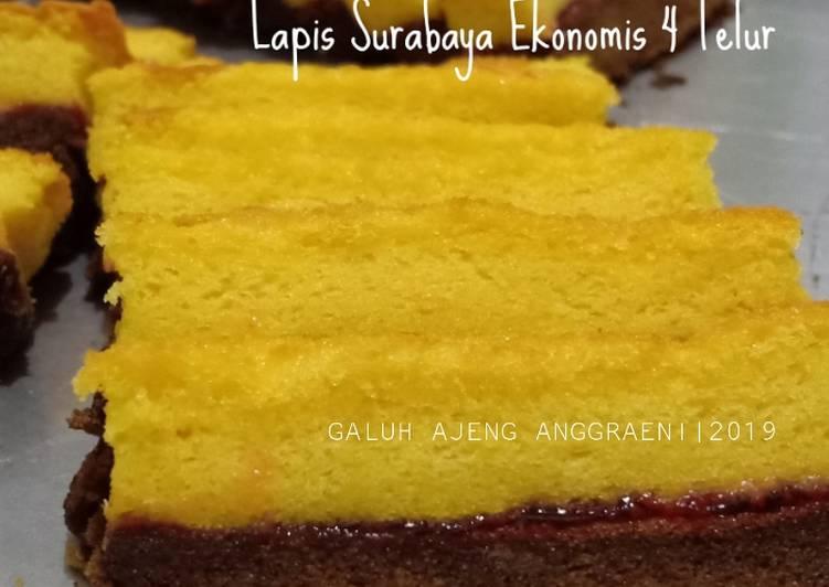 15 Bahan Membuat Lapis Surabaya Versi Ekonomis Pakai 4 Telur Yang Cepat Cookandrecipe Com