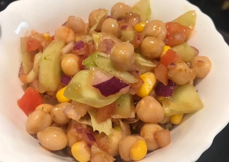 Rainbow 🌈 chickpeas salad 🥗