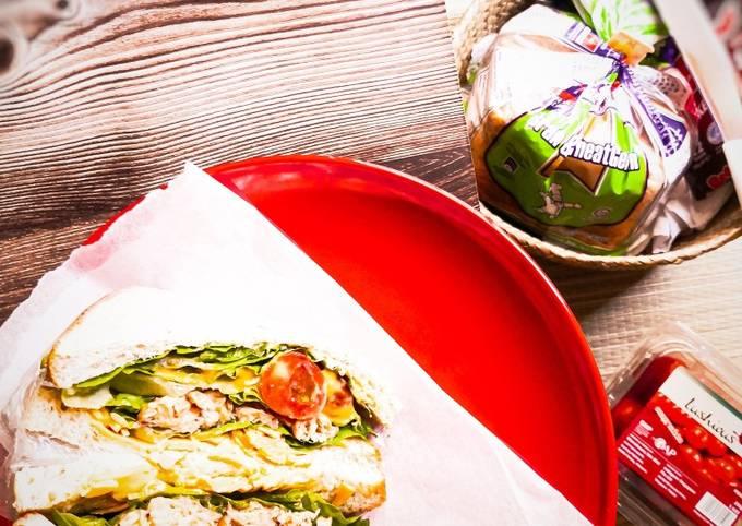 Wanpaku Sandwich Tuna Saba