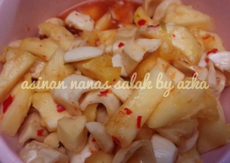 #day 5, Asinan Nanas & Salak