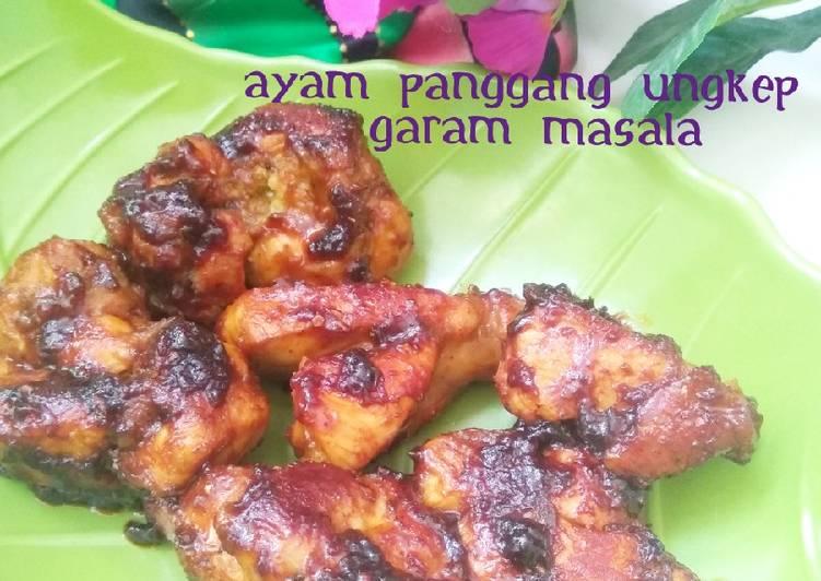 Ayam Panggang Ungkep Garam Masala - cookandrecipe.com