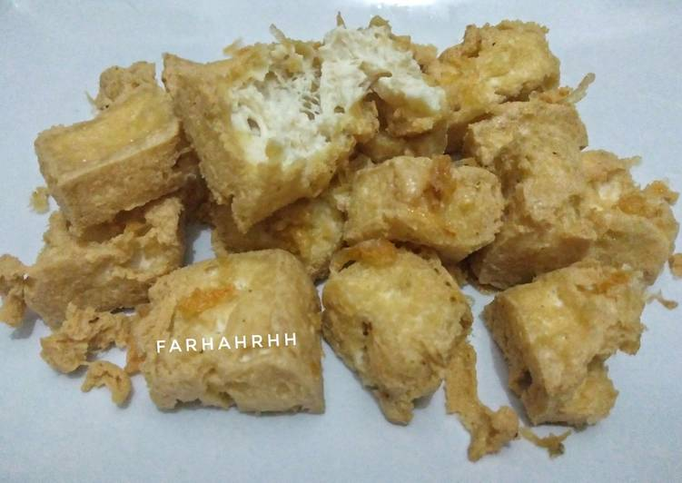 Tahu Susu Bandung (Homemade)