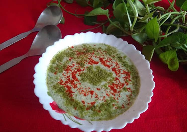 Easiest Way to Make Favorite Morianga powder raita
