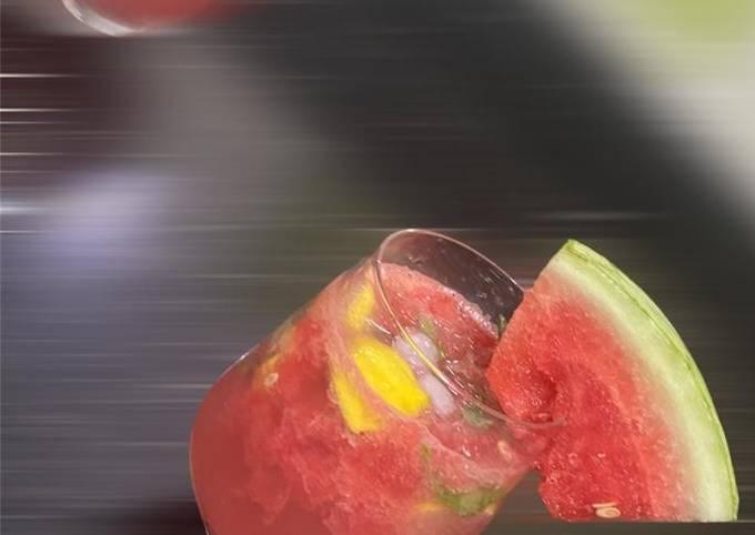 Watermelon Mojito (Mocktail)