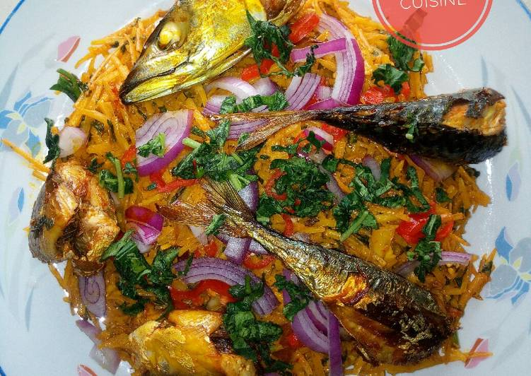 15 Minute Recipe of Royal Abacha (African salad)