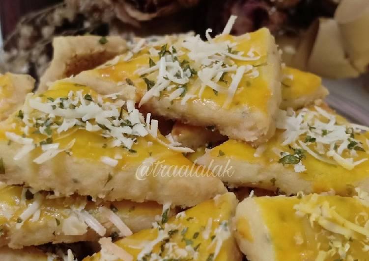 Garlic Cookies Teflon/ NO OVEN - cookandrecipe.com