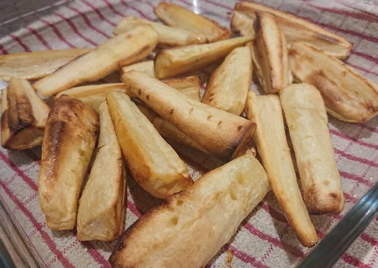 Steps to Make Speedy Roasted Parsnips