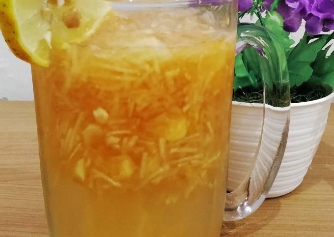 Es apel serut jeruk nipis madu untuk diet