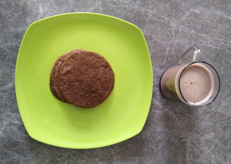 Pancake Oat Cokelat Pisang Menu Diet