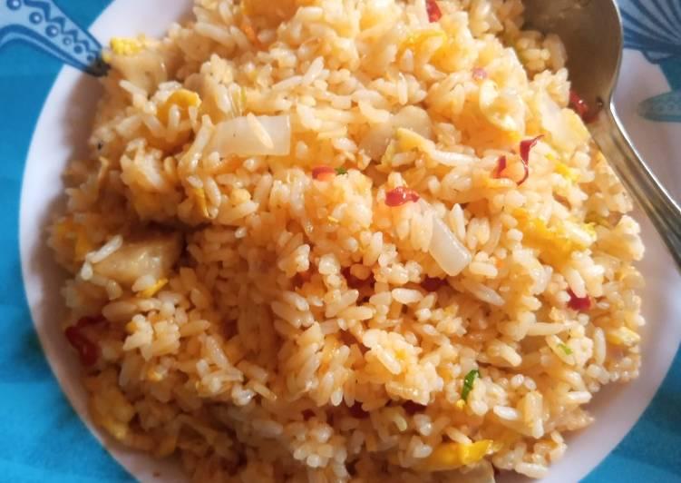 Resep Nasi goreng bakso anak kos Paling dicari