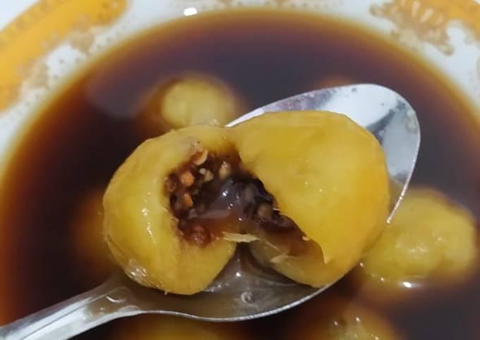 Wedang Ronde (Klepon ubi)