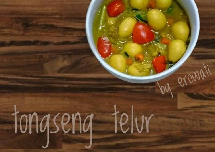 Resep Tongseng Telur Puyuh Oleh Erowati Cookpad