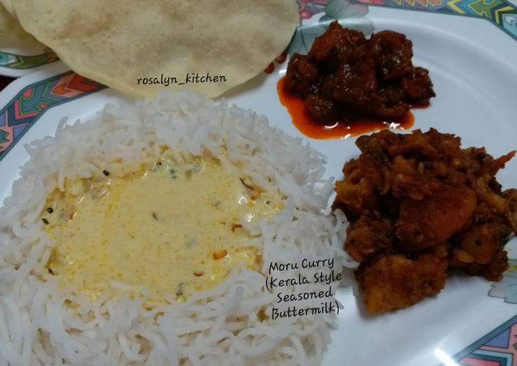 Recipe of Homemade Moru Curry (Kerala Style Seasoned Buttermilk)