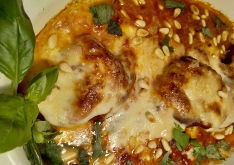 Auberginenauflauf/Melanzane alla parmigiana