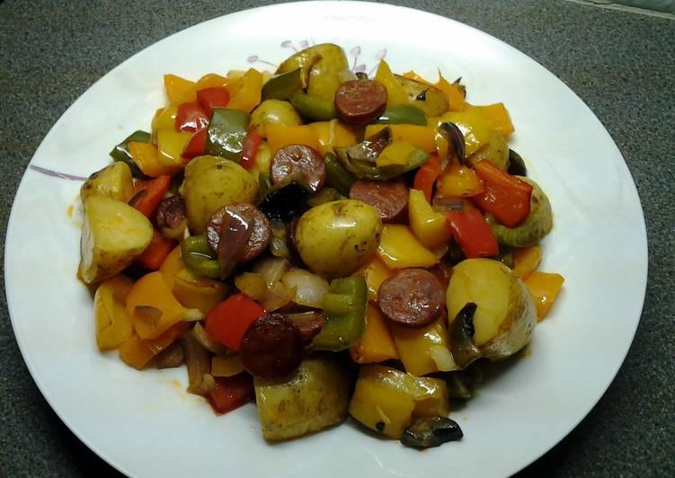 Chorizo & Chilli Roast Potatoes