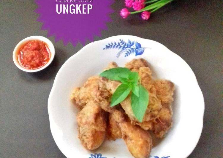 Resep Goreng Ayam Ungkep yang Menggugah Selera