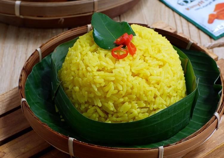 Nasi Kuning Harum Gurih #homemadebylita