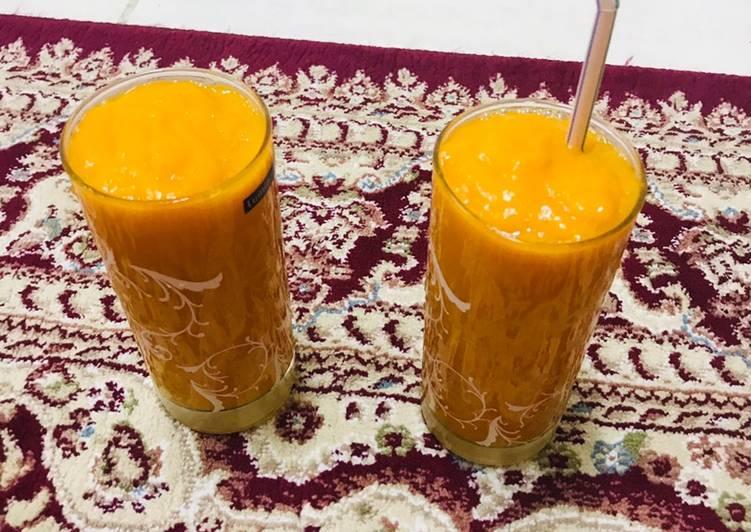 # Fresh mango juice #
