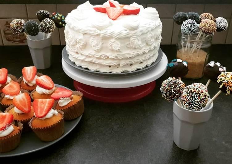 Pop cakes 💕🧡