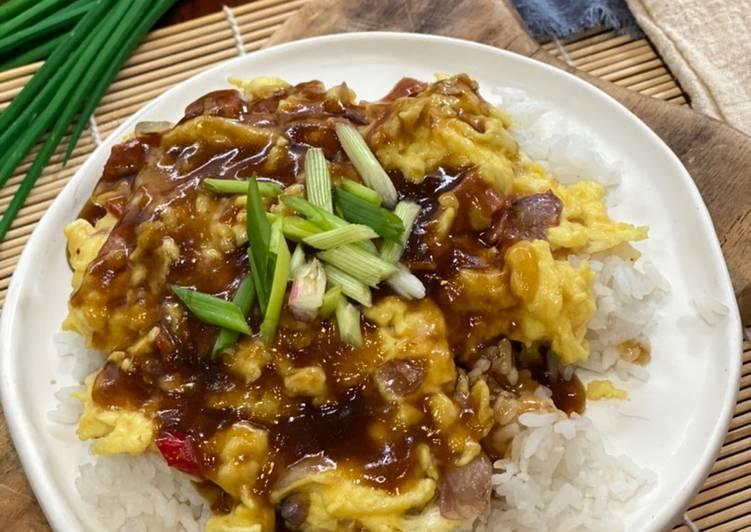 Bagaimana Memasak Resep Lezat Dari Hongkong Chiffon Egg Rice ala Tiger Kitchen