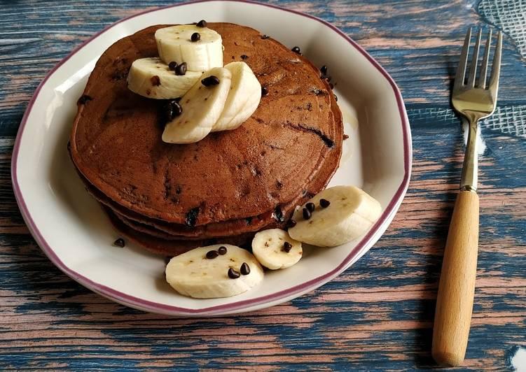 Whole wheat chocolate pancake Recipe by Ruchi Sharma - Cookpad India