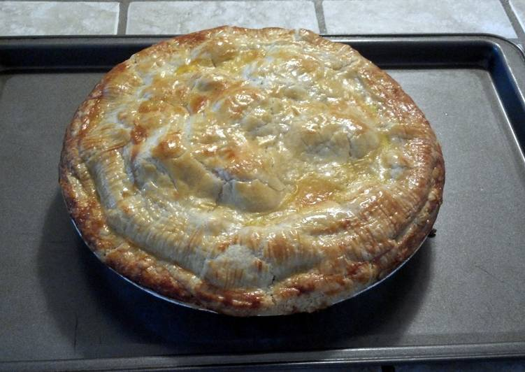 Easiest Way to Prepare Yummy Homemade chicken pot pie