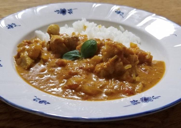 Chicken Curry Fiji-style Finding Nutritious Fast Food