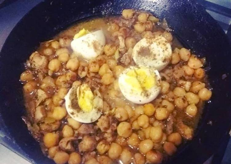 Recipe of Favorite Anday chanay