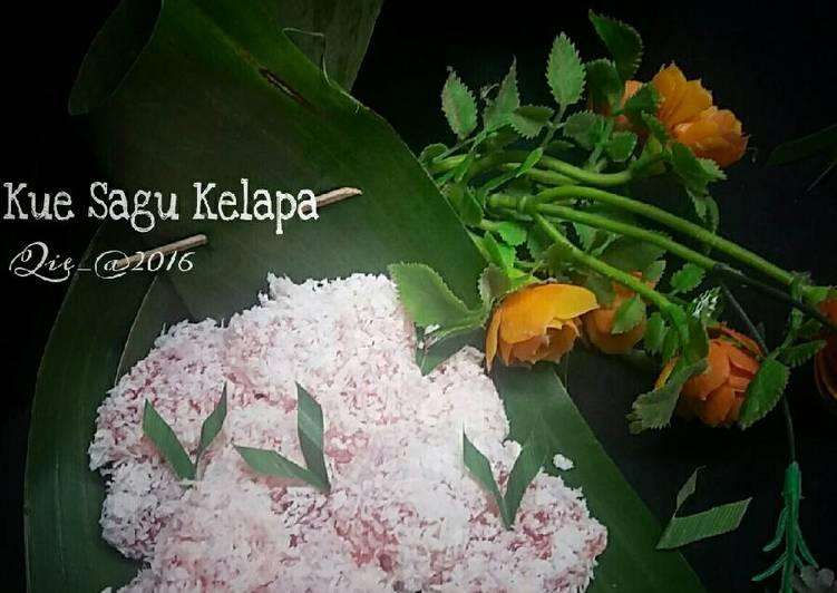 Resep Kue sagu kelapa Anti Gagal