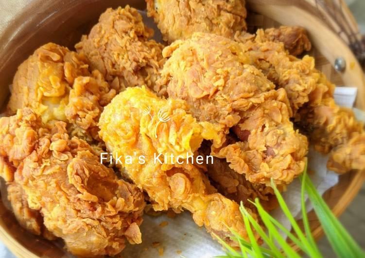 Resep Memasak Ayam Kentucky Renyah Cita Rasa Tinggi