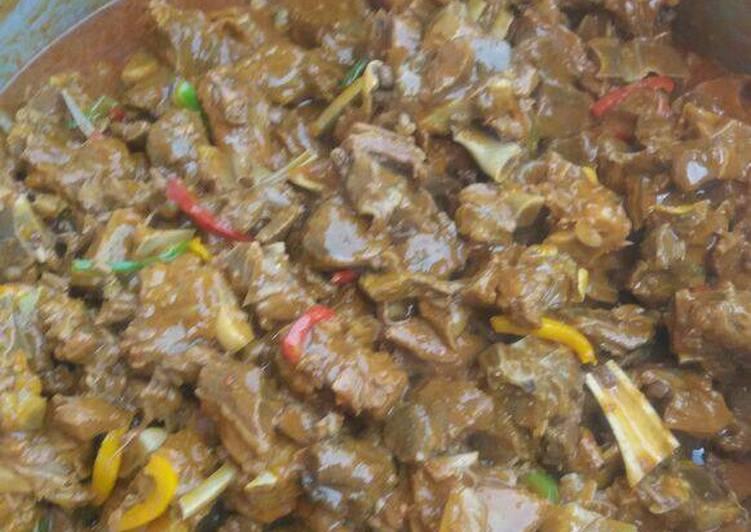 Tasty beef stew