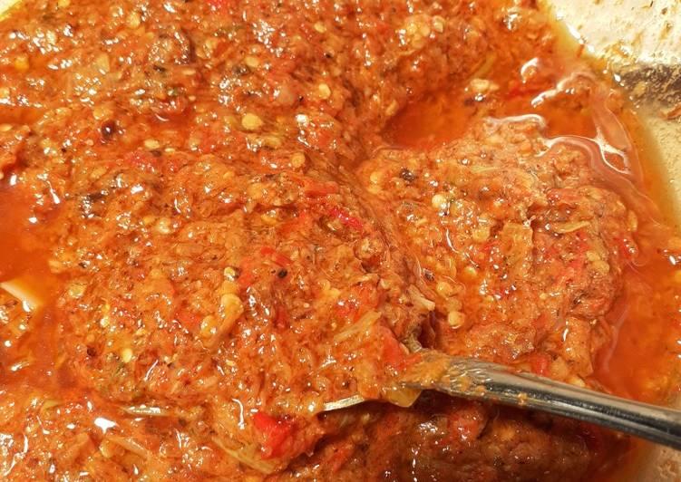 Resep Dabu-dabu Roa (sambal rica roa manado) oleh luthfia pasai ...